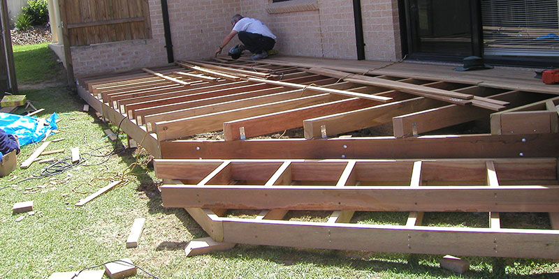 Timber decks for Timber deck construction